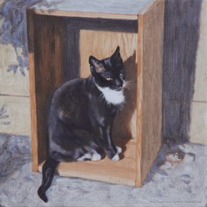 Painting of Figaro