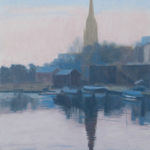 St Mary Redcliffe, Bristol floating harbour
