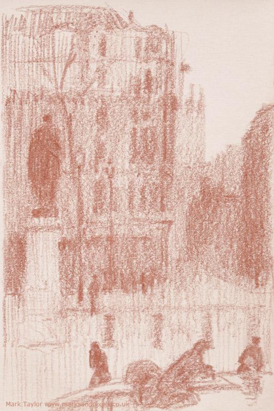sanguine drawings trafalgar square london no.1