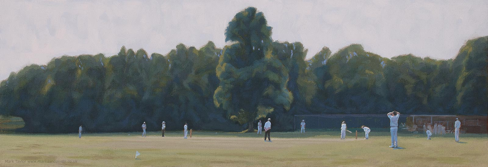 cricket on chorleywood common