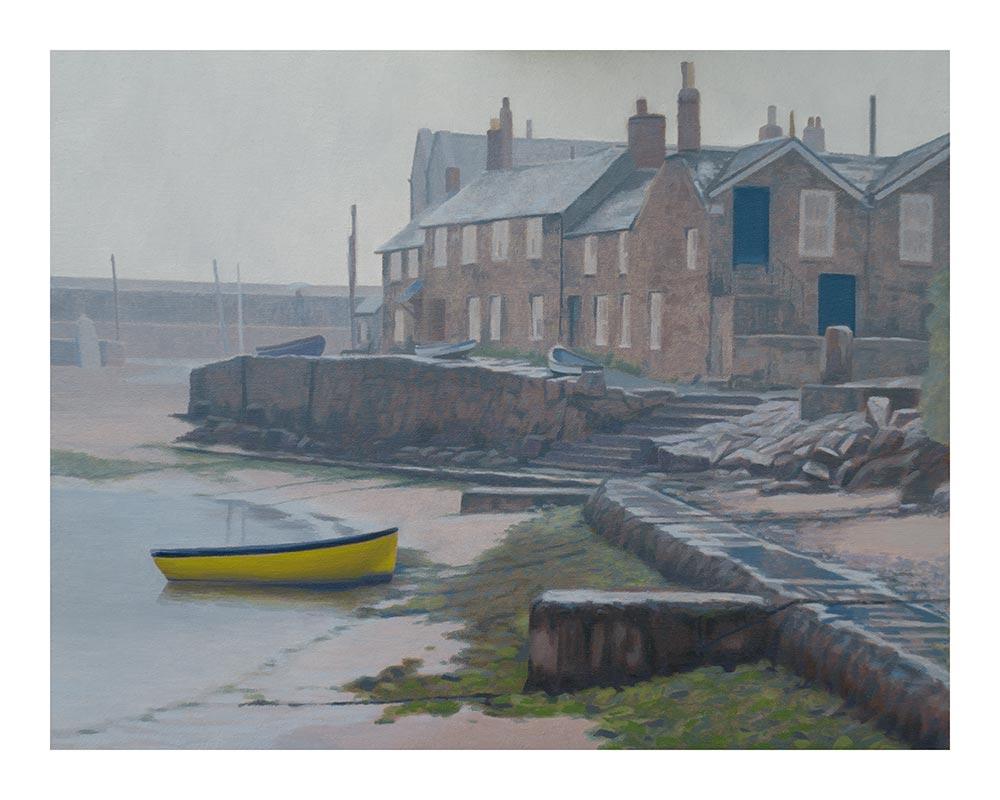 Mousehole harbour Print