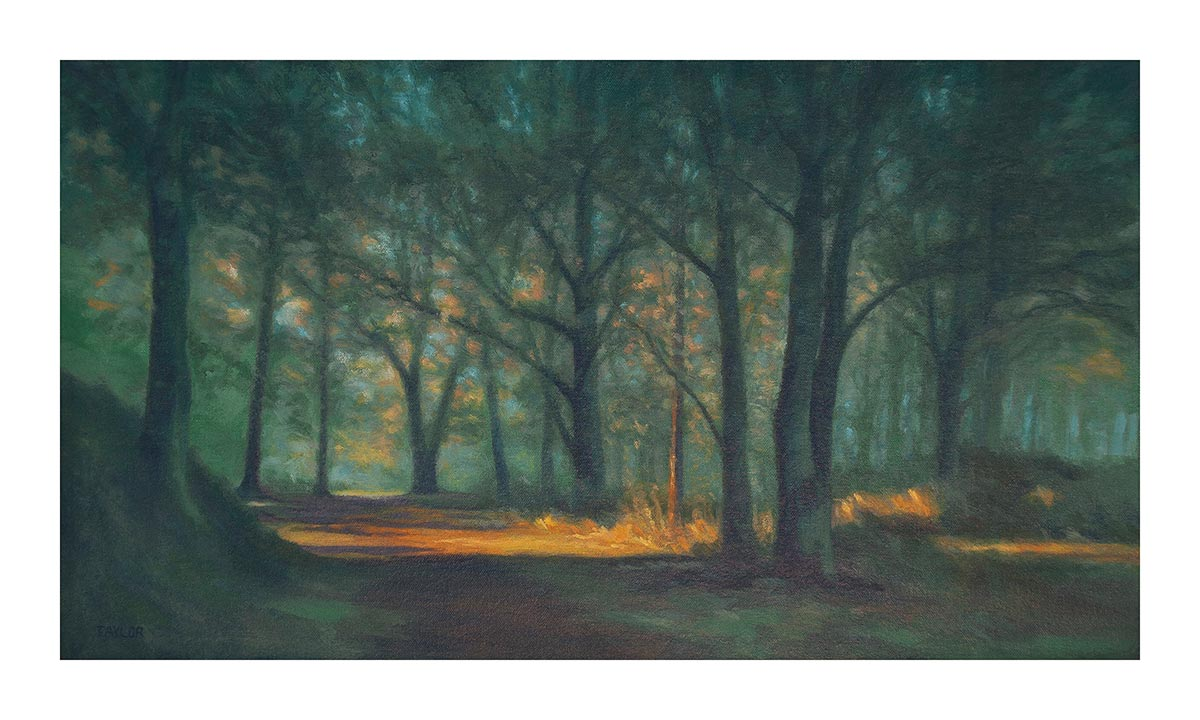 summer path chorleywood common print