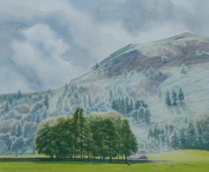 Grasmere watercolour landscape painting
