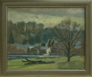 Chorleywood oil painting