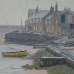 Coastal paintings UK Mousehole