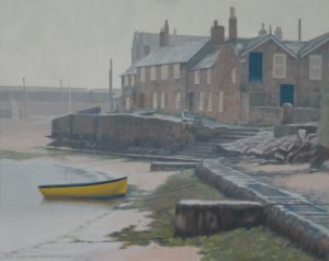 Coastal paintings UK Mousehole
