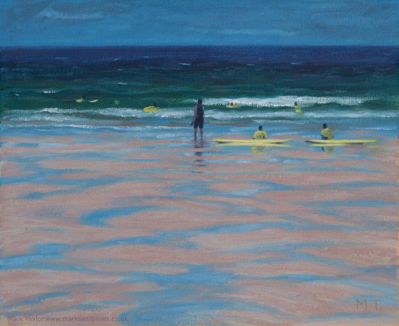 Coastal paintings UK Cornwall
