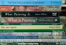 Practical and Inspirational art books